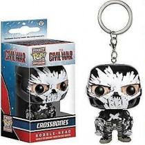 Funko Pocket POP! Keychain Portachiavi Captain America Crossbones