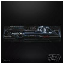 HASBRO Star Wars: The Black Series Force FX Elite Mandalorian Darksaber Moff Gideon