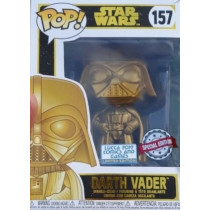 Funko Pop! STAR WARS DARTH VADER GOLD Limited Edition Lucca Comics 2019