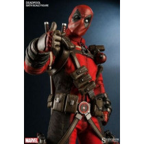Sideshow Collectibles Deadpool Comic Version 1:6 Figure Highly Detailed
