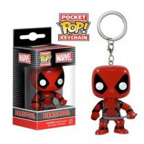 FUNKO POCKET POP! KEYCHAIN PORTACHIAVI Deadpool Red