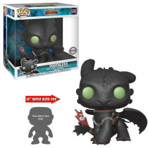 """Funko Pop!  How To Train Your Dragon 3-Toothless 10"""""""