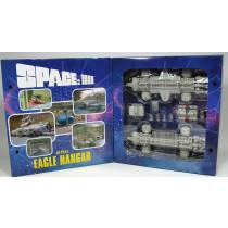 SPACE 1999 MOONBASE EAGLE HANGAR & DOUBLE EAGLE DIE CAST (Lim.1000) SIXTEEN 12