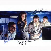 Autografo Alien Cas 4 Foto 20x25