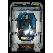 Star Trek Enterprise Tucker  Action Figure Art Asylum