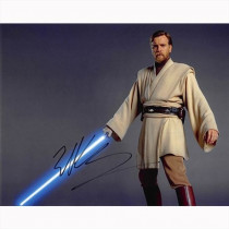 Autografo Ewan McGregor - Star Wars Foto 20x25
