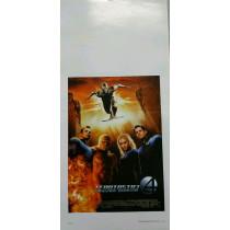 Locandina Fantastici 4 e Silver Surfer 33x70