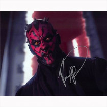 Autografo Ray Park - Star Wars Foto 20x25