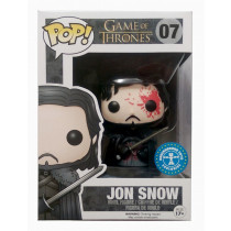 Funko Pop! Game of Thrones Jon Snow blod, #07 Exclusive
