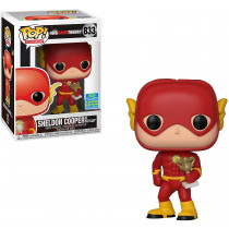 Funko Pop! Big Bang Theory: Sheldon Cooper as The Flash #833 SDDC2019