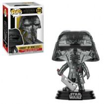 Funko- Pop Star Wars: Knight of Ren-Blade (Hematite Chrome) KOR