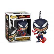 FUNKO POP! Spiderman Maximum Venom: Venomized Captain Marvel #599
