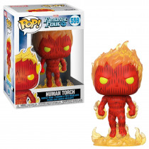 Funko Pop! Fantastic Four-Human Torch