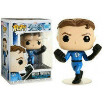 Funko- Pop Marvel Four-Mister Fantastic Collectible Toy, Multicolore, 44985