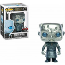 Game of Thrones Funko Pop Metallic Night King # 44 Esclusivo