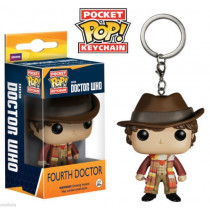 Funko Pocket Pop! Keychain Portachiavi Doctor Who Fourth Doctor