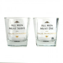 Game of Thrones Set di 2 bicchieri in vetro