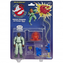 Action Figure Ghost Retro Ghostbusters Kenner Classics Winston Zeddemore and Chomper - Hasbro