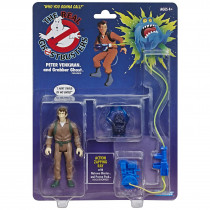 Action Figure Ghost Retro Ghostbusters Kenner Classics Peter Venkman e Grabber - Hasbro