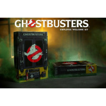 GHOSTBUSTERS EMPLOYEE WELCOME KIT SET DA COLLEZIONE DOCTOR COLLECTOR