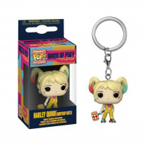 Funko Pocket Pop! Keychain Portachiavi Birds of Prey Harley Quinn Boobytrap Battle