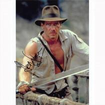 Autografo Harrison Ford - Indiana Jones 2 Foto 20x25