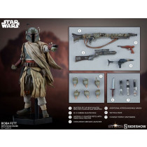 PREORDINE HOT TOYS Star Wars Mythos Action Figure 1/6 Boba Fett 30 cm
