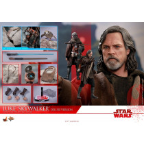 HOT TOYS 1/6 STAR WARS LAST JEDI MMS458 LUKE SKYWALKER DELUXE VERSION