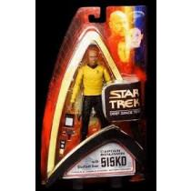 Star Trek Deep Space Nine Action Figure Bundle Sisko Uniforme serie classica