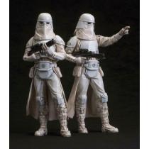 Star Wars Snowtrooper 2 Pack Artfx + Statua Kotobukiya