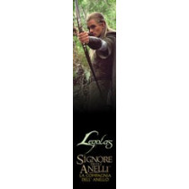 Segnalibro Legolas – Il Signore degli Anelli: La Compagnia dell'Anello