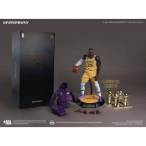 NBA Collection Real Masterpiece Actionfigur 1/6 LeBron James 30 cm