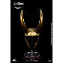 King Arts MPS027 Movie Prop Series Loki Helmet 1/1 Scale Prop Model INSTOCK