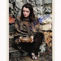 Autografo Maisie Williams - Game of Thrones Foto 20x25