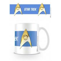 Tazza Star Trek (Sciences Blue)