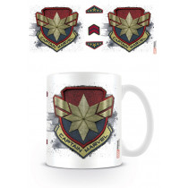 Tazza Captain Marvel (Badge)