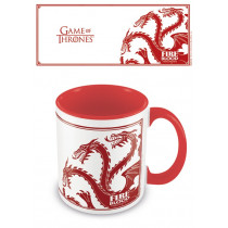 Tazza Game of Thrones (Targaryen) Rosso