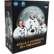 Apollo 11 50th Anniversary - Lunar Module Pilot Buzz Aldrin -Commander Neil Amstrong- Command Module Pilot Michael Collins