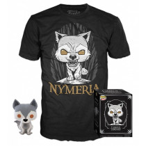 FUNKO POP! Game of Thrones - Nymeria Direwolf Figure + T-Shirt Box