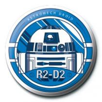 Spilla Star Wars (R2-D2)