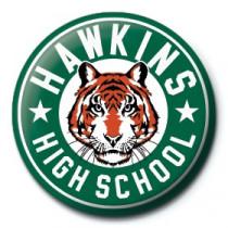 Spilla Stranger Things (Hawkins High School)