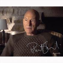Autografo Patrick Stewart - Star Trek Picard 2 Foto 20x25