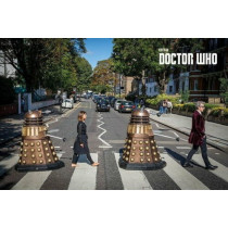 Poster Doctor Who (Abbey Road)