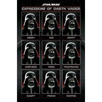 Poster Star Wars (Expressions of Darth Vader)