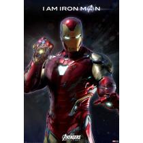 Poster Avengers: Endgame (I Am Iron Man)