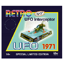 Sixteen12 RETRO UFO INTERCEPTOR DIECAST