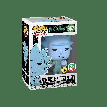 FUNKO Pop!  Hologram Rick Clone #667 GITD GLOW Rick & Morty  Cyber Monday