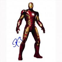 Autografo Robert Downey Jr. - Avengers Age of Ultron Foto 20X25