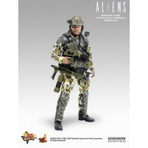 Hot Toys 1/6 Aliens U.S.C.M. Sergeant Apone MMS4