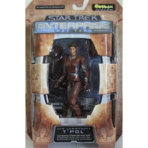 Star Trek Enterprise T' Pol con Tuta da sbarco  Action Figure Art Asylum
